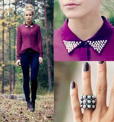 Pearls (by Petra Karlsson) http://lookbook.nu/look/4041684-pearls