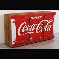 Credenza vintage coca cola