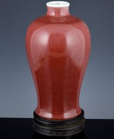 IMPORTANT 17THC CHINESE IMPERIAL KANGXI MARK & PERIOD PEACHBLOOM MEIPING VASE Vases, Ebay, Amp, Period, Jars, Vase, Bulb Vase