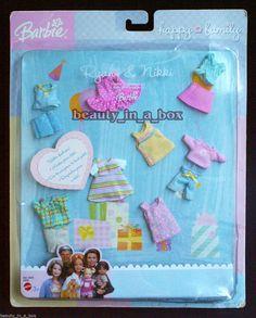 2003 Happy Family Ryan & Nikki Toddler Fashions Barbie Mattel for sale online Barbie Bebe, Barbie Kids, Barbie Doll Set, Baby Barbie, Barbie Kelly, Barbie Doll House, Mattel Barbie, Happy Family Barbie, Barbie Playsets