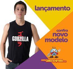 Camiseta - Godzilla : O famoso monstro japonês está de volta as telonas. Confira já o nosso modelo:   Camiseta - Godzilla  http://www.camisetasdahora.com/p-4-156-4108/Camiseta---Godzilla | camisetasdahora