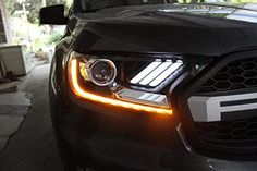Make sure it is intact before you sign. Otherwise, there will not be warranty against the transportation Available for both Left Hand Drive and Right Hand Drive LED will stay cool situation and longer life span with NONE color fading Easy installation (Professional installation recommended) Led Headlights, Ford Ranger, Tail Light, Car, Transportation, Sign, Automobile, Signs