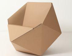 Ознакомьтесь с этим проектом @Behance: «DIAMOND // CARDBOARD // CHAIR» https://www.behance.net/gallery/12674317/DIAMOND-CARDBOARD-CHAIR