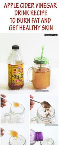 To make this tasty ACV health drink, you need 2-3 teaspoons raw honey (more or less depending on your taste preferences), 1/4 teaspoon cinnamon powder, 1 tablespoon of raw unfiltered apple cider vinegar and 2 cups of warm or cold water.