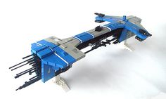 Lego Spaceship, Spaceship Design, Lego Machines, Micro Lego, Starship Concept, Sci Fi Spaceships, Lego Ship, Lego Craft, Lego Mechs