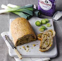 This delicious Caerphilly And Leek Bread Recipe consists of Caerphilly cheese, a tasty hard white cheese from south Wales.