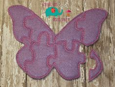 Felt butterfly puzzle embroidered embroidery jigsaw puzzle, learning toy, activity, quiet game, kids toys montessori, homeschool, busy book - pinned by pin4etsy.com