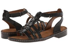 Womens Sandals Naturalizer Rhapsody Black Leather