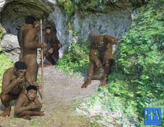 Stone Age Family by hackembacker on DeviantArt