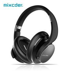 Mixcder mobile headset headphones wireless with ShareMe stereo bluetooth V4.1+EDR headphones for headband earmuffs