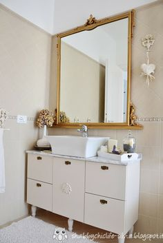 Bagno restyle shabby chic II parte
