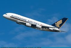 Foto Singapore Airlines Airbus A380-841 9V-SKE