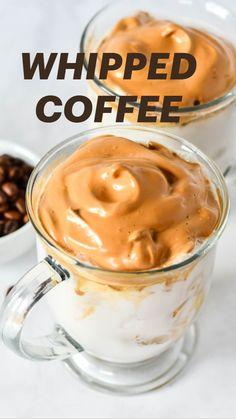 Vegan Desserts, Vegan Recipes, Dessert Recipes, Cooking Recipes, Coffee Drink Recipes, Starbucks Recipes, Coffee Drinks, Yummy Drinks, Healthy Drinks