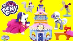 My Little Pony Rarity Carousel Boutique New 2017 Hoity Toity Cat Surpris...
