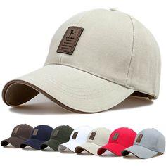 Nueva Marca Gorras de Béisbol Hombre Hueso Snapback Sombrero para el Hombre  Papá de béisbol- 40589df1251