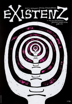 Marta Szmyd, eXistenZ (Directed by David Cronenberg. With Jude Law, Jennifer Jason Leigh, Ian Holm), 2015, Size: B1