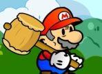 Il grande super Mario ha ancora tanta voglia di avventurarsi e compiere missioni. Aiutalo a distruggere ogni oggetto o animale minaccioso. Hai un martello a disposizione!