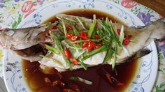 Cooking with Lu: Steam Fish with Soya Sauce