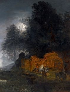 Art Oswald Achenbach German Romanticism 13