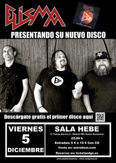 Esta semana, tenemos tres conciertos en dos días, en la zona de Madrid
