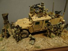 Dioramas and Vignettes: Behind the enemy's lines