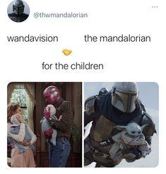 Funny Marvel Memes, Marvel Jokes, Avengers Memes, Marvel Avengers, Marvel Show, Star Wars, Wanda And Vision, Disney Marvel, Mandalorian
