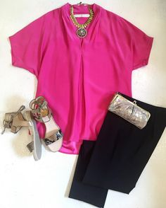 A pop of pink pretty jewels and fab shoes make an awesome Saturday #ootn! #tfssi #stsimonsisland #seaisland #shopgoldenisles #spring2016 @_marieoliver_ @madeinthedeepsouth