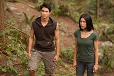 Still of Julia Jones and Booboo Stewart in The Twilight Saga: Breaking Dawn - Part 1