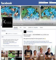 KOCHHANDWERK jetzt auch auf Facebook  LIKE IT!  https://www.facebook.com/kochhandwerk