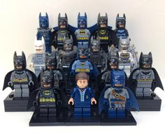 My Lego Batman Minifigure Collection (updated) by mini_go_figure