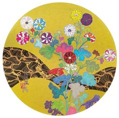 Takashi Murakami Kansei: The Golden Age, 2014 Edition of Signed & Numbered Medium: Offset Lithograph Dimensions: Long Painting, Japan Earthquake, Superflat, Takashi Murakami, Body Is A Temple, Japanese Painting, Japan Art, Art Fair, Golden Age