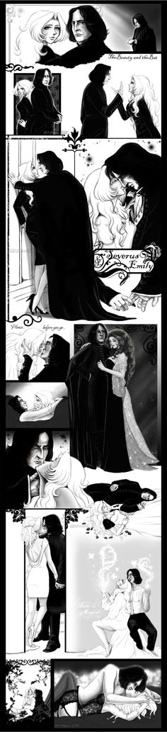 Severus Snape and Emily Brown by RedPassion on DeviantArt