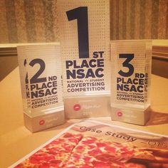 American Advertising Federation  (AAF) National Student Advertising Competition (NSAC) Trophies
