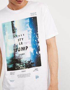 Camiseta 'Stride/ Free Style Jump' - Novedades - Bershka España