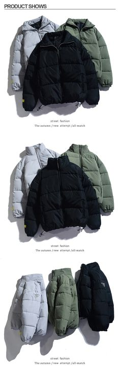 Alion Mens Outerwear Turtleneck Thicken Camo Full-Zip Quilted Hooded Down  Jackets Coat Jackets & Coats Down & Down Alternative