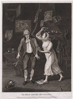 """""""The Hen Peckt Husband"""", 1768; LWL 768.01.01.02+"""