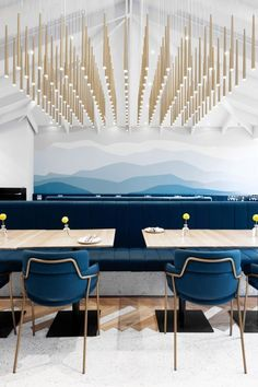 An unforgettable luxury dining experience at Beefbar Paris Modern Restaurant, Restaurant Bar, Restaurant Interior Design, Interior Design Studio, Art Deco Design, Art Deco Hotel, Diy Art, Interiores Art Deco, Art Nouveau