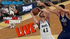 Wally McGee MyCareer Live Stream (NBA 2K16 - PS4)