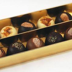 Caja Oro Bombón, 250g de delicioso chocolate. Encuentra este producto de 'Quimcacau!' en Loikos.