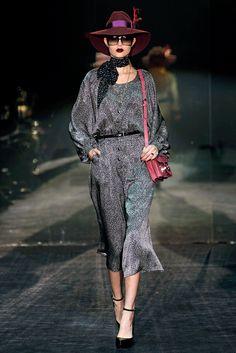 Gucci Fall 2011 Ready-to-Wear Fashion Show - Josephine Skriver