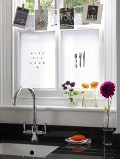 DIY Kitchen Windows Decor   Shelterness