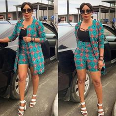 Call, SMS or WhatsApp if you want this style, needs a skilled tailor to hire or you want to expand more on your fashion business. African Fashion Ankara, Latest African Fashion Dresses, African Print Fashion, African Print Pants, African Print Clothing, Short African Dresses, African Print Dresses, African Attire, Look Fashion