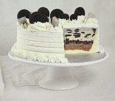 Oreo Cookies  Ice Cream Dessert Cake