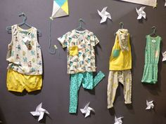 Indikidual organic kids clothing (shot at Playtime as the display was better) was also at Dot to Dot London kids spring 2015 fashion fair.