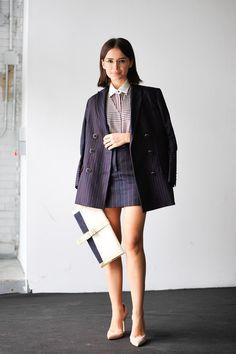 ストリートスナップ [Miroslava Duma] | ニューヨーク | Fashionsnap.com