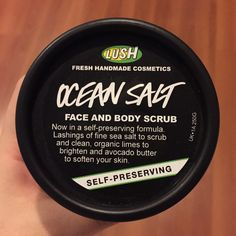 Second review this week!! WOOOOT. I'm so pumped up. And this time I'm not going to review a Korean skincare again, because it's OCEAN SALT by LUSH!! another awesome product. //sup…