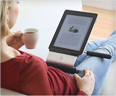 Best iPad #stand to use #iPad in lap while on sofa or bed