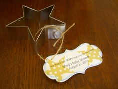twinkle twinkle little star baby shower decorations | Stampin' Stacy