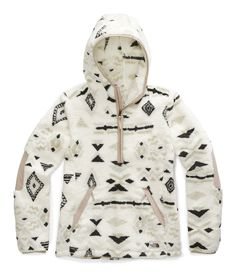 The North Face Campshire Hooded Pullover Fleece Jacket - Women's The North Face, North Face Women, North Faces, Fleece Hoodie Women, Pullover Hoodie, Face Off, Off White, North Face Fleece, Hoodie