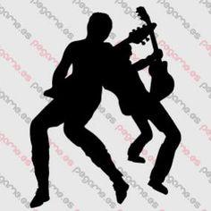 Pegame.es Online Decals Shop  #music #guitar #live #concert #vinyl #sticker #pegatina #vinilo #stencil #decal